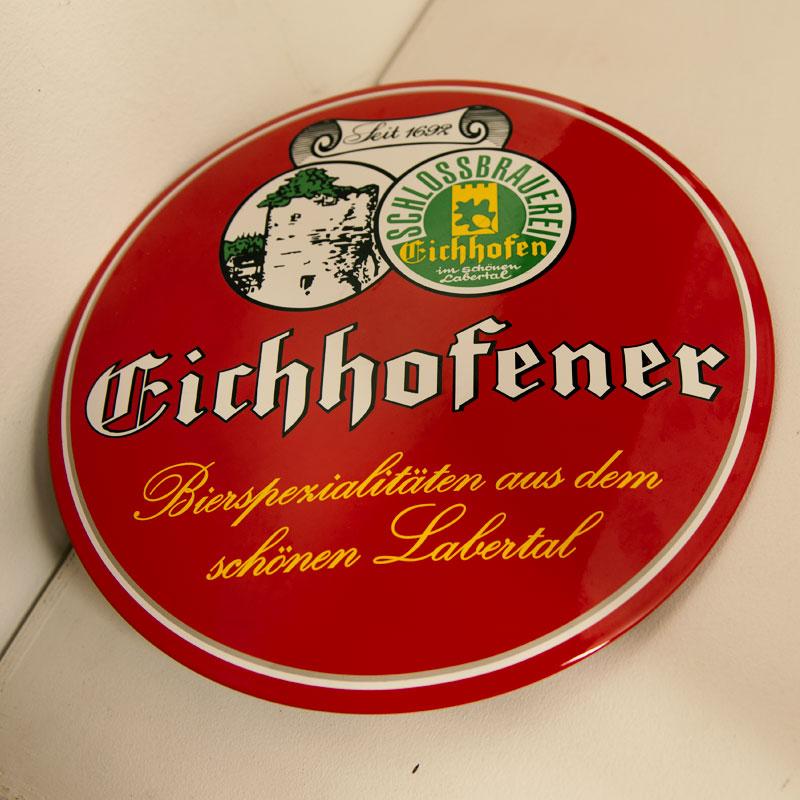Eichhofener Emailleschild